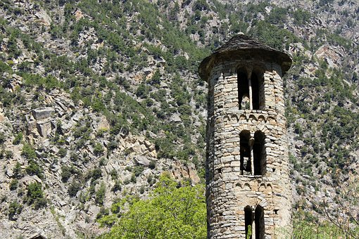 Andorra, Romanesque, Architechture, Church, Pyrenees