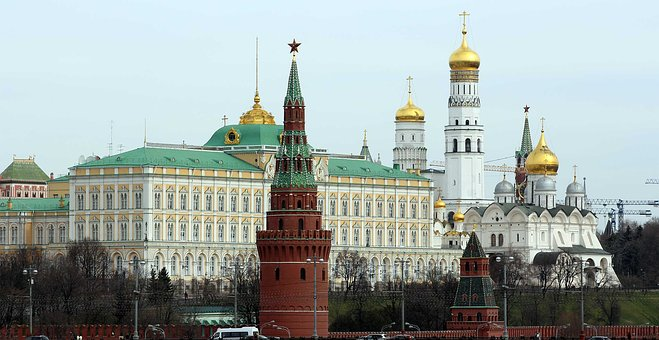Moscow, The Moscow Kremlin, Russia, Architecture