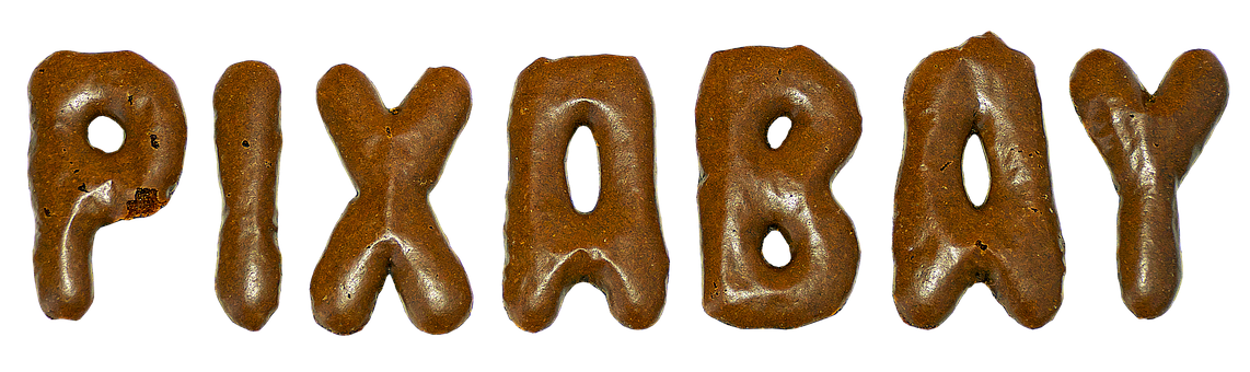 Pixabay, Letters, Lettering, Pastries, Baked