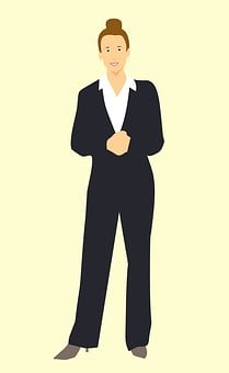 Businesswoman, Women, One Woman Only, Cut Out, Standing
