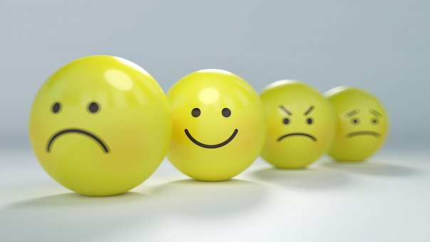 Smiley, Emoticon, Anger, Angry, Anxiety, Ball, Calm