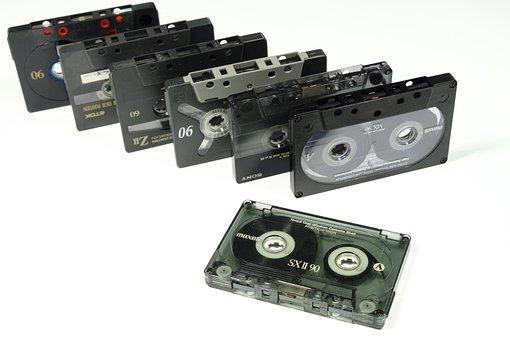 Cassette, Tape, Magnetband, Band, Analog, Music, Sound