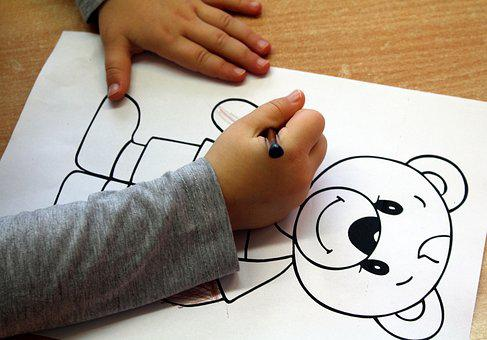 Child, Figure, Drawing, The Hand, To Draw, Handle, Fun