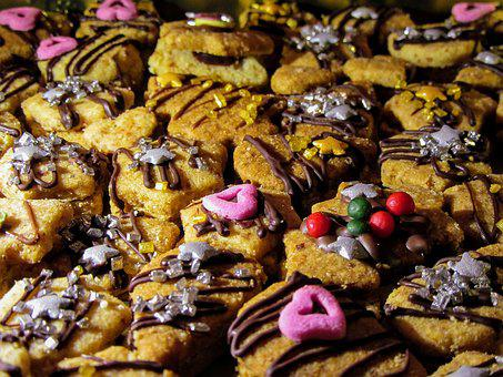 Cookie, Christmas Biscuits, Christmas Cookies