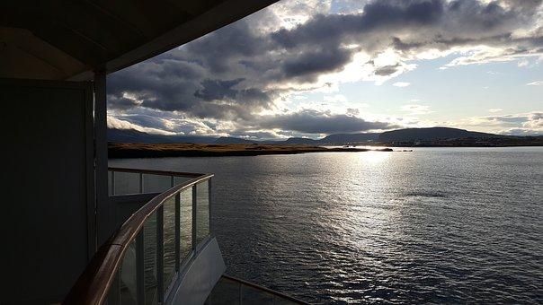Scotland, Kirkwall, Highlands And Islands, Clouds