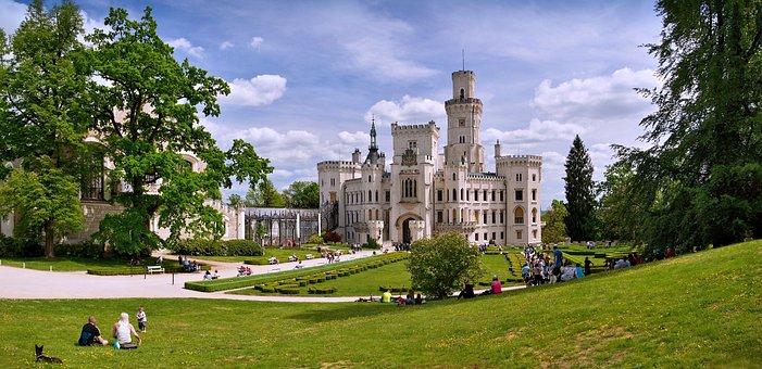 Castle, Deep, South Bohemia