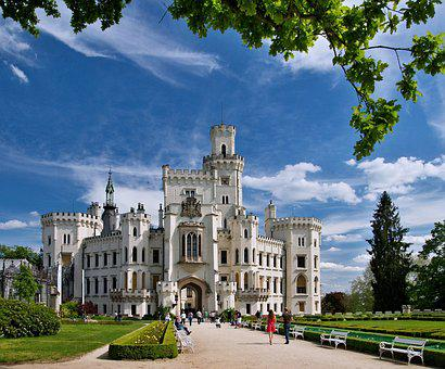 Deep, Castle, South Bohemia