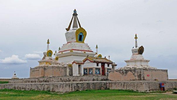 Mongolia, Karakoram, Monastery, Erdene Zuu