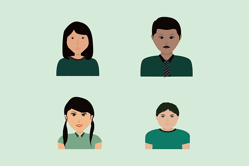 Family Picture, Openclipart, Cartoon, Flat Design