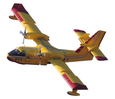 Fire Fighting Aircraft, Fire, Water, Forest Fire