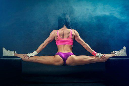 Balancing Act, Splits, Fitness, Girl, Bodybuilding