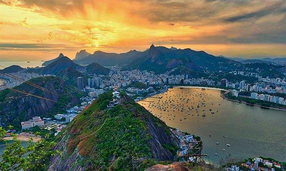 Rio, Brazil, Janeiro, Brazilian, Summer, Travel, De