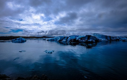 Glacier, Iceberg, Blue, Nature, Ice, Landscape, Travel