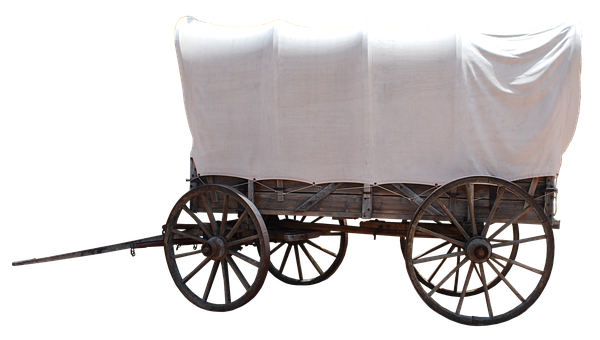 Dare, Usa, Covered Wagon, Old, American, Nostalgia