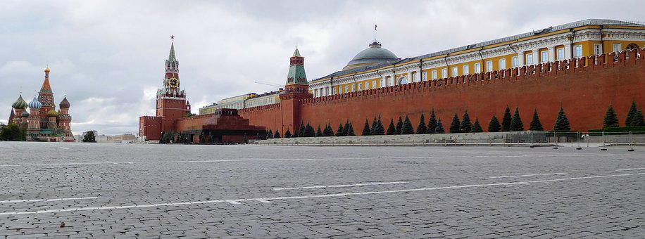 Red Square, Russia, Moscow, The Kremlin