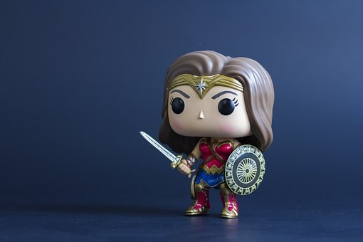 Wonder Woman, Figurine, Toy, Marvel, Hero, Superhero