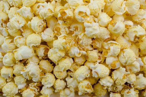Popcorn, Cinema, Snack, Food, Corn, Sweet, Nibble, Eat