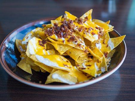 Nachos, Chips, Mexican, Snack, Food, Spicy, Tortilla