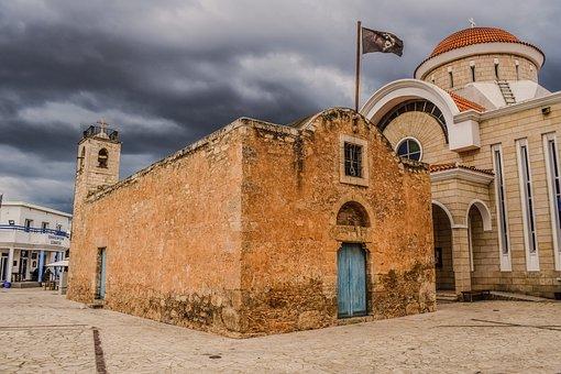 Cyprus, Xylofagou, Ayios Georgios, Church, Medieval