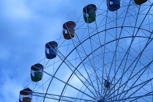 Carnival, Ferris Wheel, Fair, Amusement, Park, Ferris