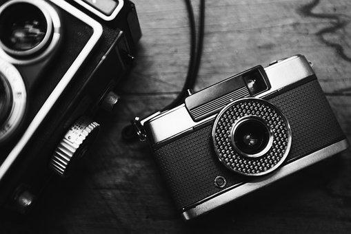 Analog, Antique, Camera, Classic, Closeup, Film