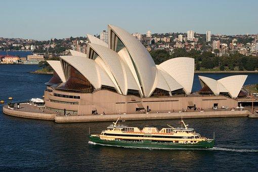 Opera House, Landmark, Sydney, Architecture, Building