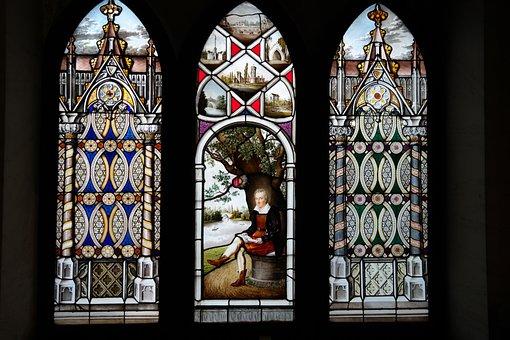 Art, Window, Glass, Images, Color, Schloss Laxenburg