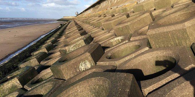 Seaside, Blackpool, Beach, Uk, Coast, Lancashire, Sea