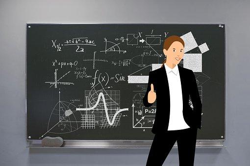 Teacher, Geometry, Mathematics, Cube, Hexahedron, Body