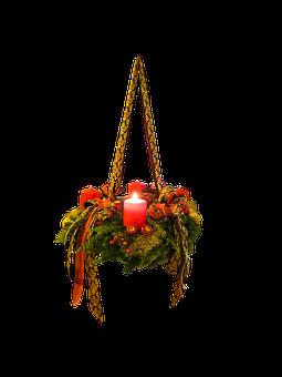 Advent, Christmas Time, Advent Wreath, Isolated, 1