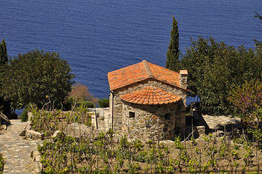 Elba Island, Sea, Vineyard, Tuscany, Colors