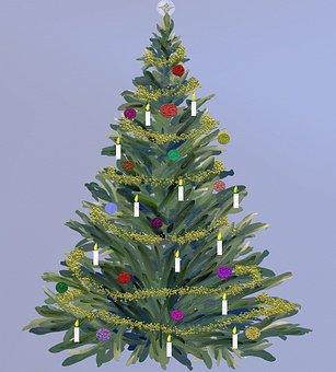 Christmas, Christmas Decoration, Fir, Festive