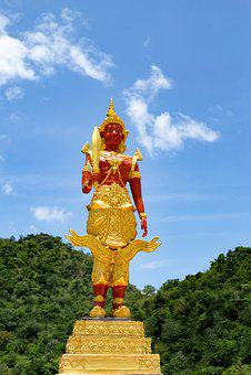 Angel, Deity, Thailand, Holy Thing, Buddhism