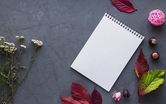 Notebook, Leaves, Paper, Work, Office, Write, Record