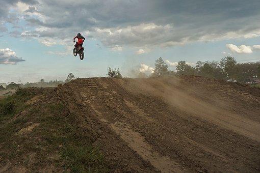 Motocross, Dirt Bike, Ramp, Sport, Motorbike, Riding