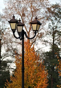 Replacement Lamp, Antique, Autumn, Lantern, Park, Alley
