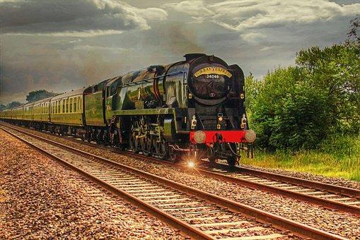 Train, Steam, Steam Machine, Old, Vintage, Retro