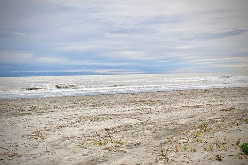 Beach, Coast, Shoreline, Sea, Ocean, Sand, Water
