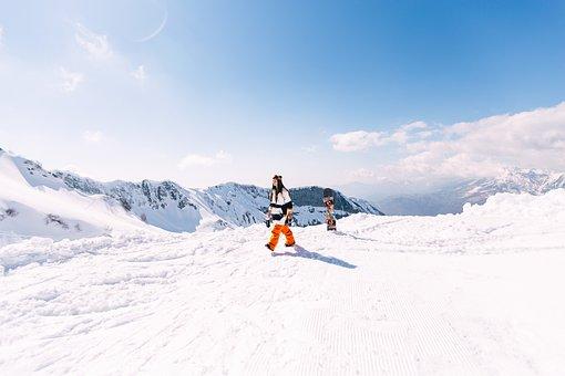 Snowboard, Girl, Winter, Sports, Extreme, Snowboarder