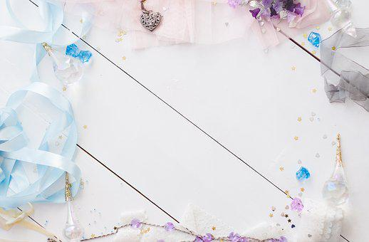 Background, Girly, Beads, Crafts, Pink, Design, Texture