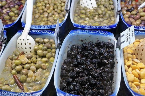 Salad, Olives, Vegetables, Vitamin, Vegan, Oil, Menton
