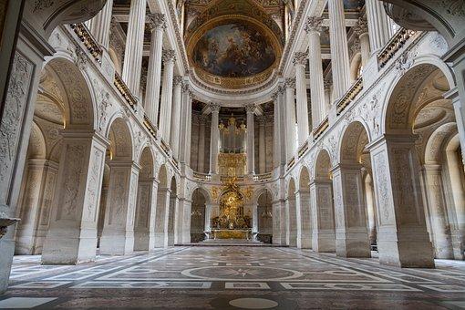 Palace Of Versailles, Paris, Versailles, France