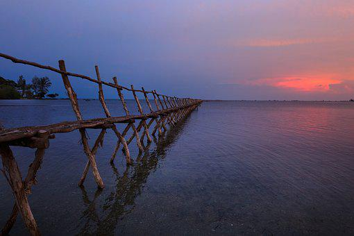 Knife, Phu Quoc, Vietnam, Sunset, Dawn, Pier
