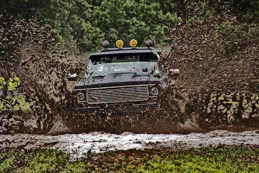 Truck, Mud, 4x4, Off-road, Race, Extreme, Mud Bog, Loud