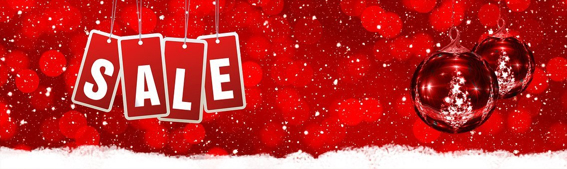 A Discount, Stock, Sale, New Year's Eve, Christmas