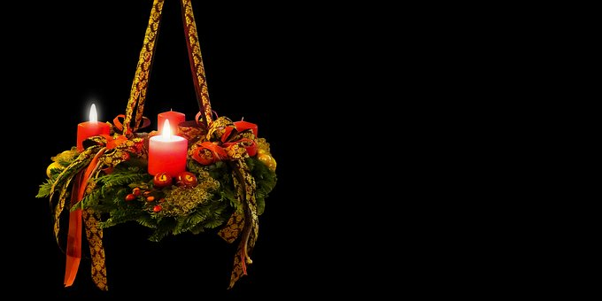 Advent, Christmas Time, Advent Wreath, 2advent