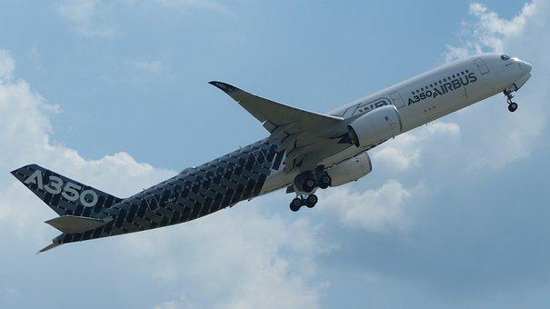 Aircraft, Airbus, Berlin, A350