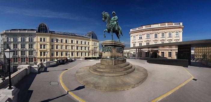 Vienna, Albertina, Austria, City Trip, Downtown