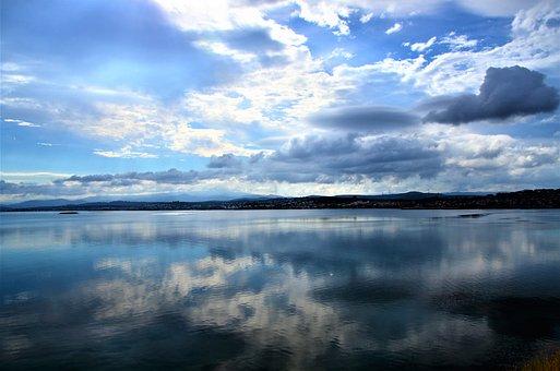 Nature, Marine, Cloud, Ayvalýk, Blue, Peace