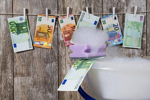Money, Bank Note, Banknote, Euro, Laundry, Wash